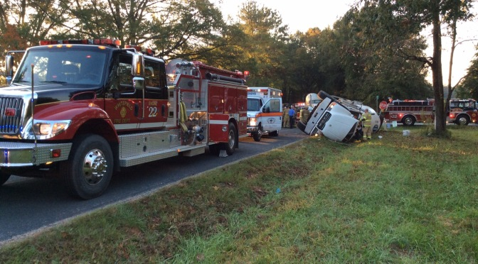 Truck Accident – Old Williamston Rd @ Stringer Rd