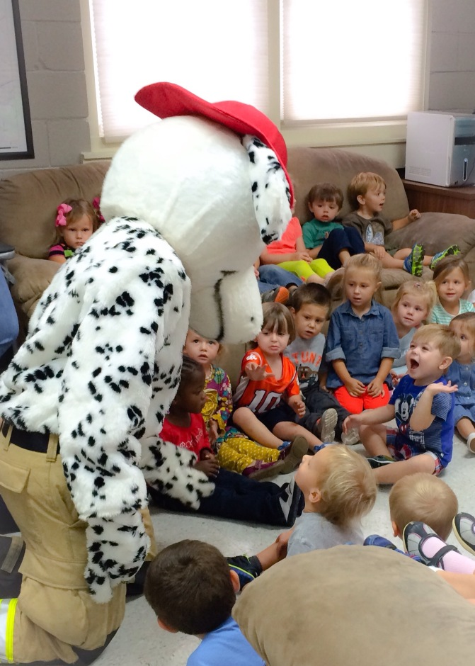 Fire Safety with Whitefield Child Development Center