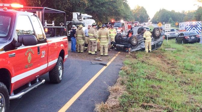 Two-Vehicle Accident – US 29 N @ Ellison Lake Rd