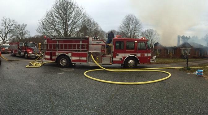 Structure Fire Assist – Oakridge Ct