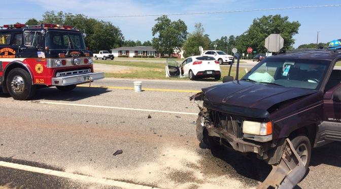 Traffic Accident – US 29 North @ Old Williamston Road