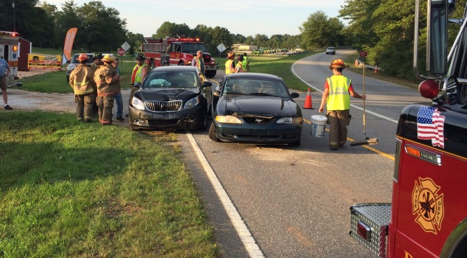 Traffic Accident – US 29 North at Cromer Rd