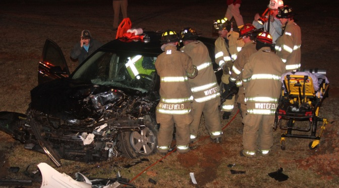 Head-On Collision – Anderson Hwy @ West Park Dr