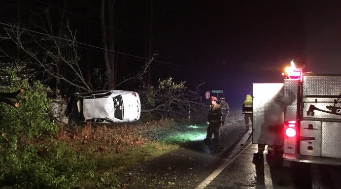 Traffic Accident – US 29 North