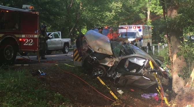 Traffic Accident – Old Williamston Rd
