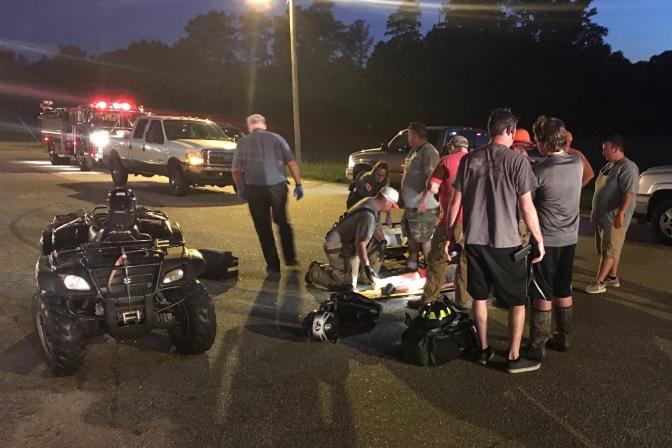 ATV Accident – Mitchell Rd