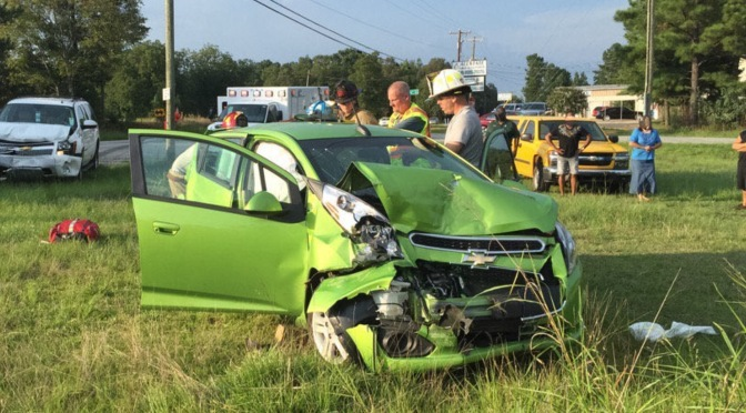 Traffic Accident – US 29 N @ Griffin Rd