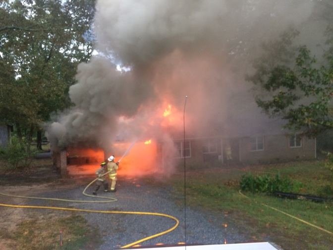 Structure Fire – Cromer Rd (click for more photos)