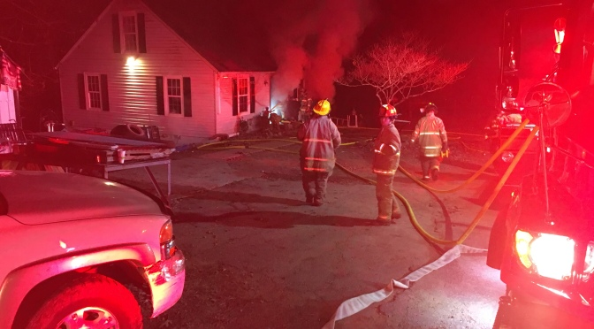 Structure Fire – Snow Rd