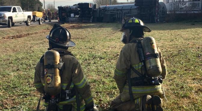 Overturned Fuel Tanker – Murphy Rd