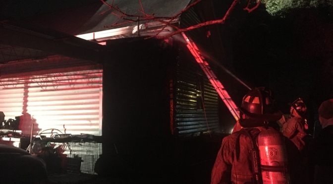 Firefighters Quickly Extinguish Residential Structure Fire On US 29 N